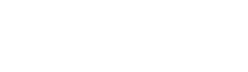 M. B. Automotive Electric Logo